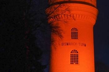 Bismarck-Turm, Aumühle - Orange your city 2017